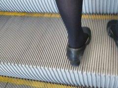 HONGKONG Airport airline staff suit upskirt