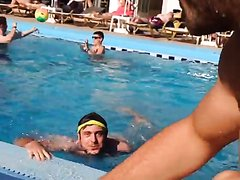 STRAIGHT FUNNY FRIEND NAKED IN POOL