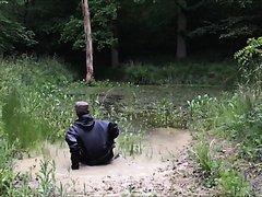 Mud Suit in Muddy Pond