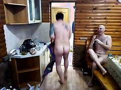 Group of friends playing naked (part 1)