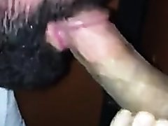 Glory Hole Cock Sucking With Cum Swallow