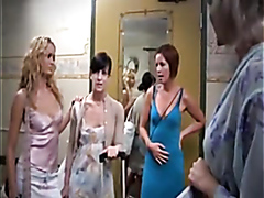 Cougars in a nice lesbian threesome