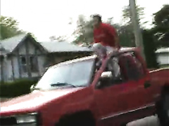 Genius crashes his car into a tree