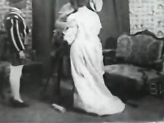Hardcore black and white vintage porn