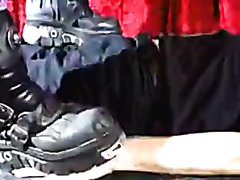 heavy boots trample