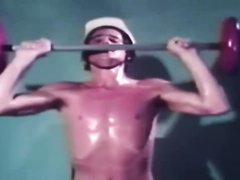 vintage - hung guy selfsucks