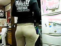 Pantyline Asian Ass 2
