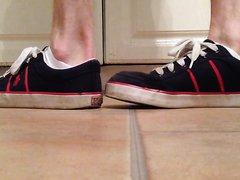 Sweaty and dirty Puma ankle socks
