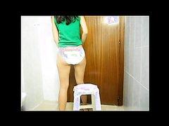 Elana 4 panty poop
