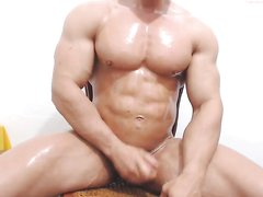 promuscle oiled flex and wank