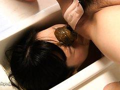 Female toilet.