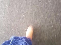 Mistress Nath Walking to a Feet loving Finsub
