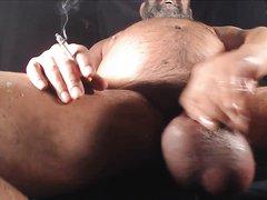 smoke bate bull nuts bear cum - video 2