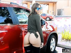 Public Flashing at the store and gas station