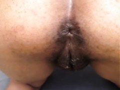 Ebony mature outdoor scat