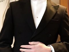 18 year old suit wank and dump part 1