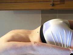 Part 2: 18 year old suit wank and dump - the closeup