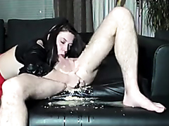 Vomit blowjob