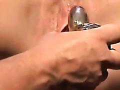 Cougar cumming hard over and over again