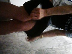 girl on toilet - video 4