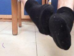 Smelly Black Socks Sweaty