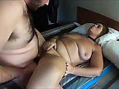 Busty fat mature cumming hard