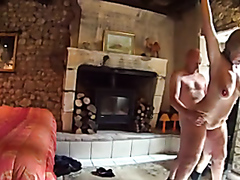 Mature wife strapped and fucked hard
