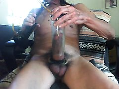 Pumping my cock - video 2