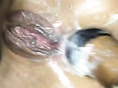 Hardcore amateur anal fisting fun