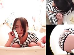 Weird Japanese girls vomiting together