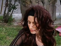 Hot Italian milf fucked by a big dick