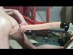 HUGE DILDO FUCK - video 3