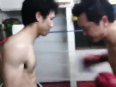 Gut punching training