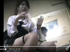 Thai College Student On Toilet #1 [ 2 /3]