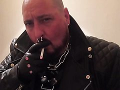 Rubber and leather smoke