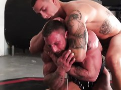 HOT Bodybuilder Wrestling