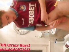 HOT BOY STROKING IN THE TOILET - video 2
