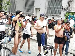 WORLD NAKED BIKE RIDE MEXICO 4