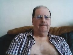 Nice daddy on cam