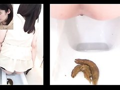 japan girls pooping show
