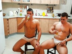 TWO HOT MUSCLE BOYS TOGETHER