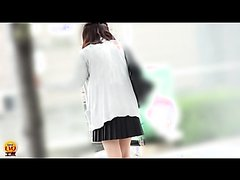 JAPANESE SCHOOL GIRL OUTDOOR DIARRHEA 1-4
