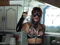 Kinky slut eats her own shit