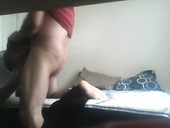 HOT tatted white muscle sub gets fucked
