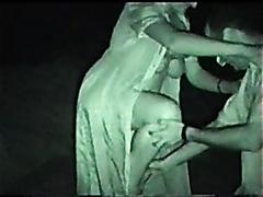 Mature couple fucking in the dark