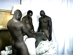 Interracial Gangbang