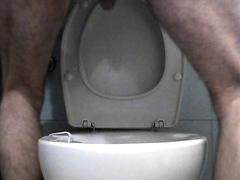 Hairy shitty ass