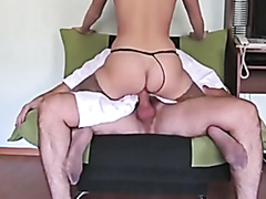 Beautiful girlfriend loves hardcore anal