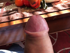 I'm grateful for my hard cock