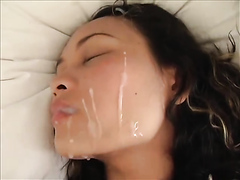Compilation of awesome amateur facial cumshots